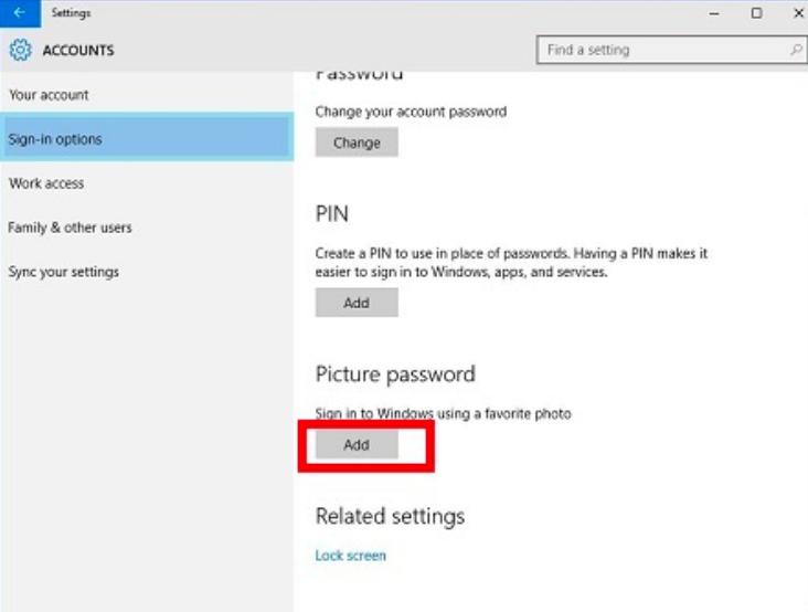 Cách đặt mật khẩu trên windows 10 bằng hình ảnh