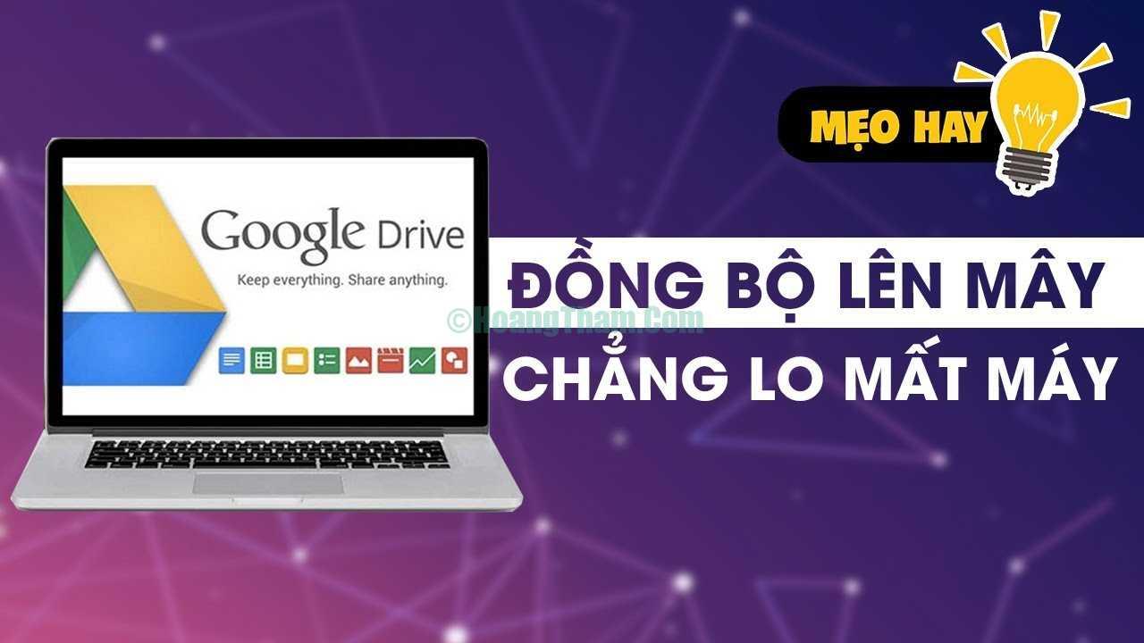 Cách đồng bộ Google drive với pc 1