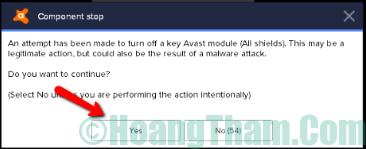 Cách tắt phần mềm diệt virus tạm thời 2