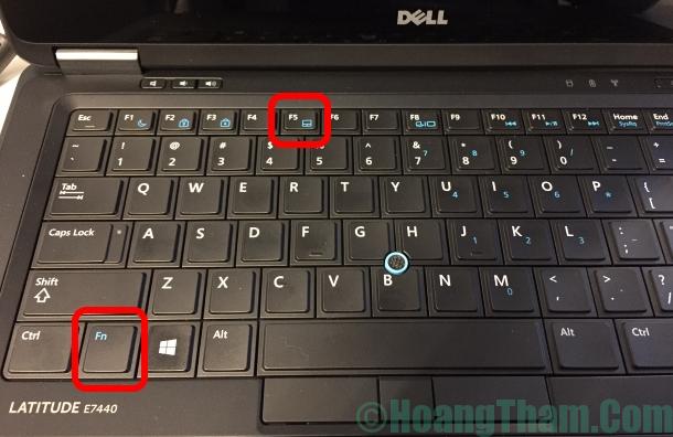 Cách tắt touchpad cảm ứng trên laptop