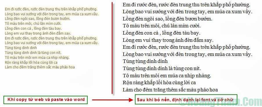 Cách xoá màu nền trong văn bản Word 1