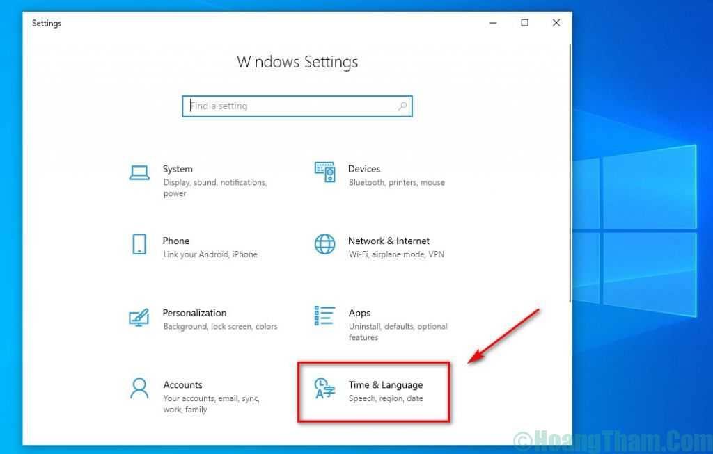 2-Kích hoạt bộ gõ tiếng Việt trên Windows 10