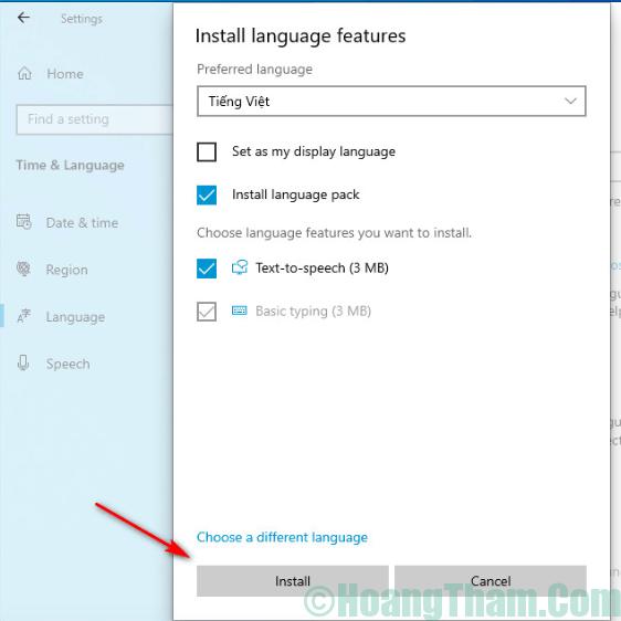 5-Kích hoạt bộ gõ tiếng Việt trên Windows 10