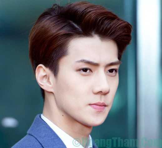 Kiểu tóc nam đẹp theo phong cách Hàn Quốc
