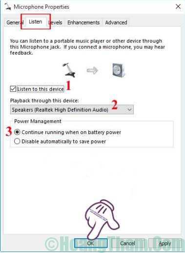 Cách thiết lập và cài đặt microphone cho máy tính 16