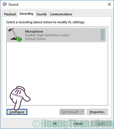 Cách thiết lập và cài đặt microphone cho máy tính 18