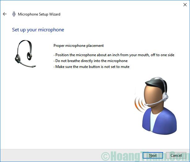 Cách thiết lập và cài đặt microphone cho máy tính 22