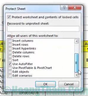 Cách khoá ô chứa công thức trong Excel 10