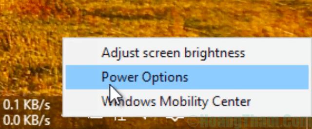 1-Cách chỉnh độ sáng màn hình laptop win 10