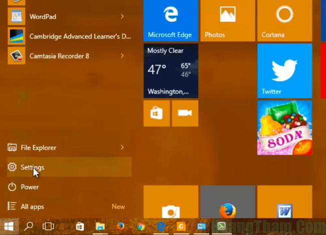 3-Cách chỉnh độ sáng màn hình laptop win 10