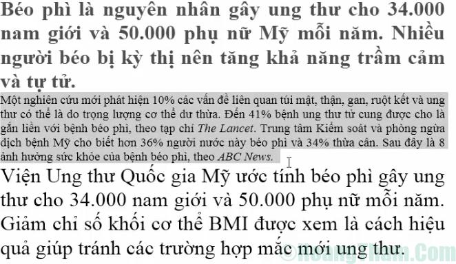 Cách chỉnh khoảng cách dòng trong Word 2