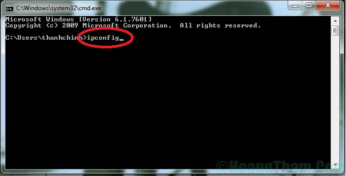 Cách kiểm tra địa chỉ ip của máy tính 2