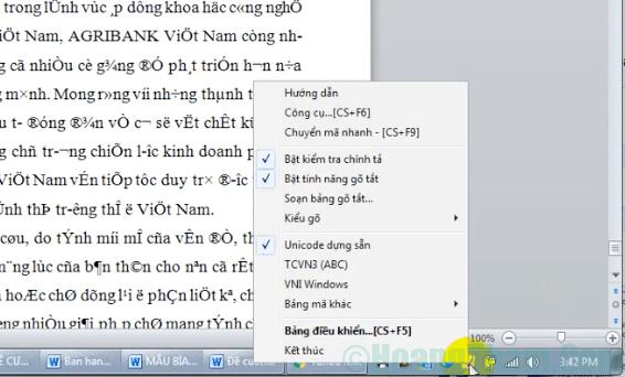 Cách sửa lỗi font chữ trong Word 2