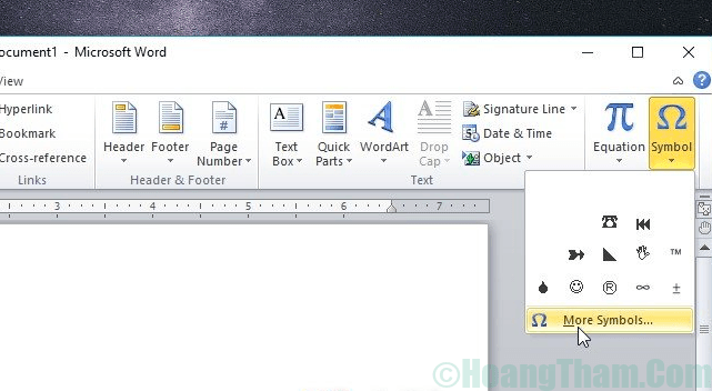 cách đánh dấu tích vào ô vuông trong word 2010
