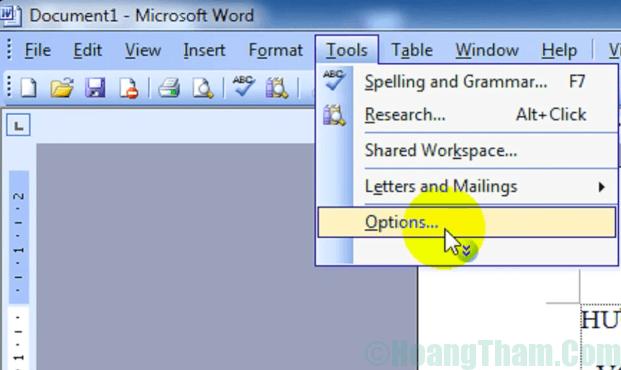 Sửa lỗi cách chữ trong word 8