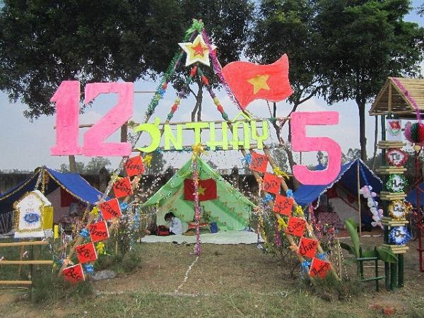 Trang trí lều trại với những hình cổng trại đẹp 8