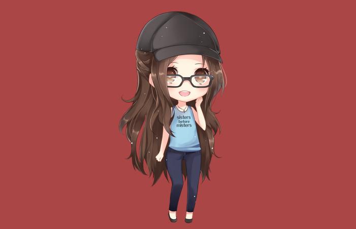 chibi girl cute 120352476