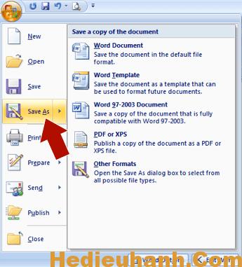 Cách chuyển file word sang pdf đơn giản nhất 5