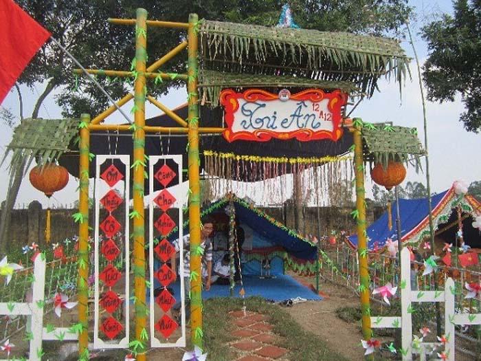 Trang trí lều trại với những hình cổng trại đẹp 12