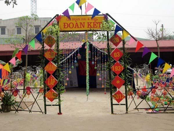 Trang trí lều trại với những hình cổng trại đẹp 21
