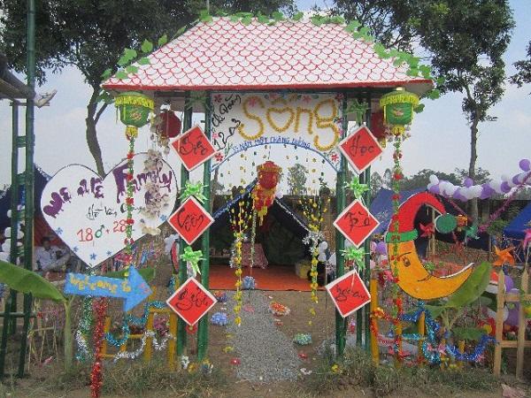 Trang trí lều trại với những hình cổng trại đẹp 31