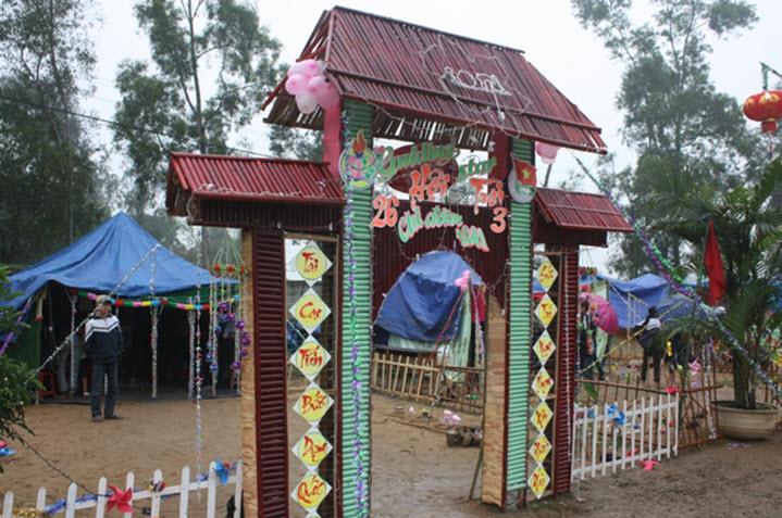 Trang trí lều trại với những hình cổng trại đẹp 35