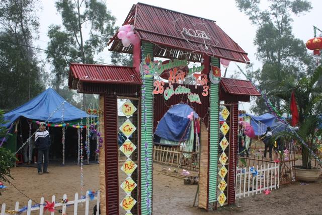 Trang trí lều trại với những hình cổng trại đẹp 40