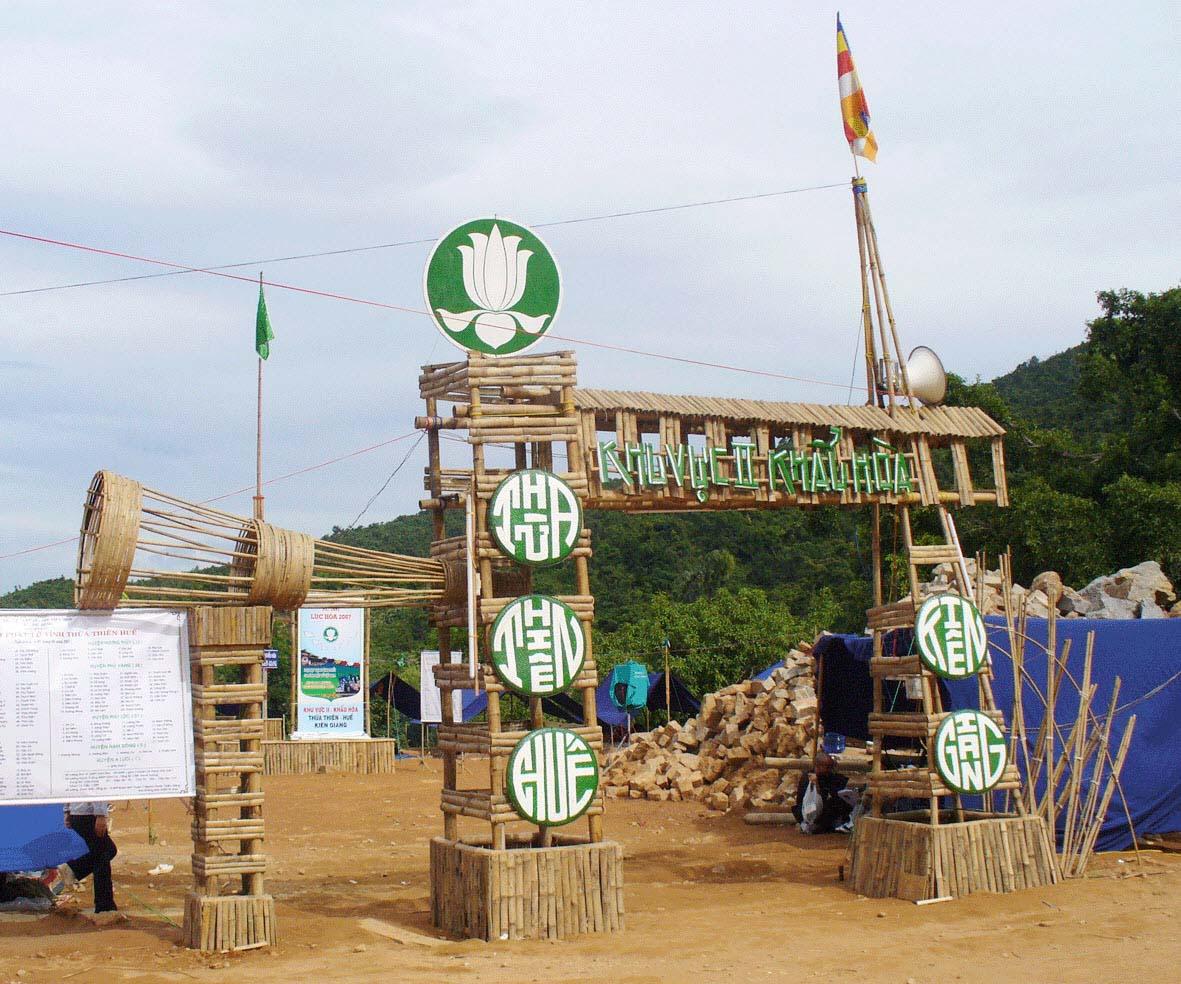 Trang trí lều trại với những hình cổng trại đẹp 43