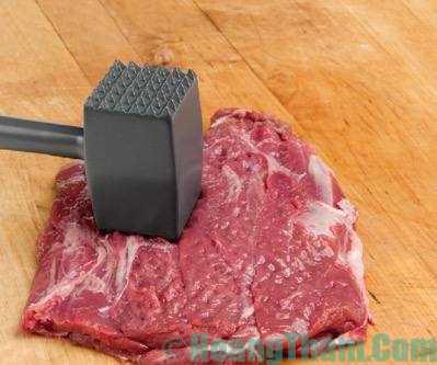 cách làm bò bít tết kiểu việt nam