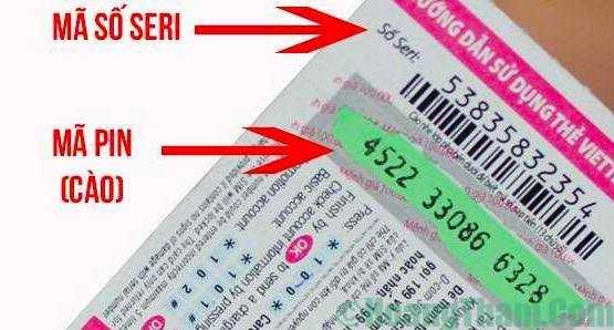 Cách donate bằng thẻ cào điện thoại