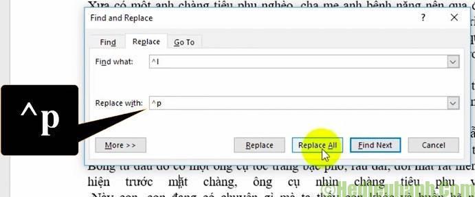 sửa lỗi cách chữ trong word 2010