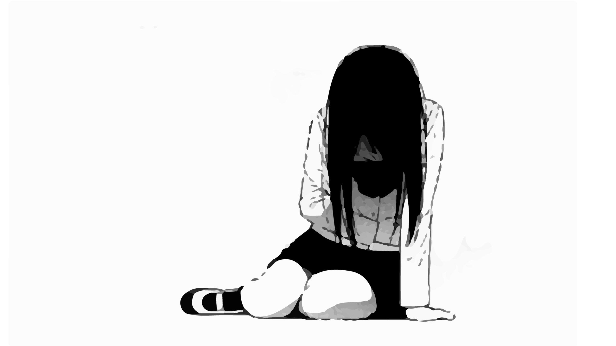 hình ảnh buồn cô đơn