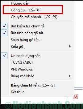 lỗi font chữ trong excel